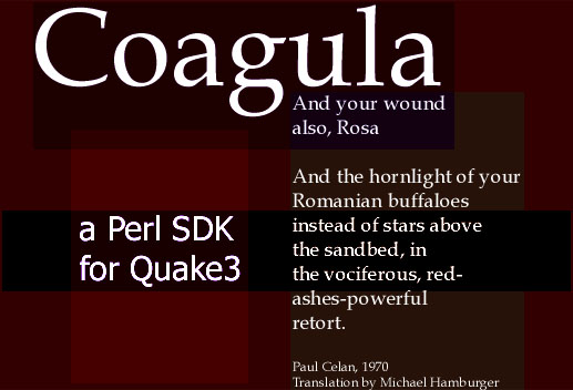 Coagula - a Perl SDK for Quake3